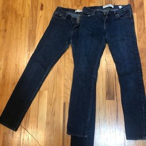 Abercrombie & Fitch perfect stretch jeans Erin